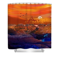 After The Storm Shower Curtain by J Griff Griffin