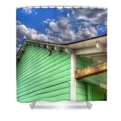 Shower Curtain featuring the photograph After The Storm by Paul Wear