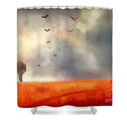 After The Storm Shower Curtain by Pixel Chimp