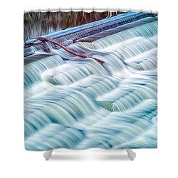 White Rock Lake Dallas 031015 Shower Curtain
