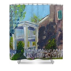 Afternoon At Carnton Plantation Shower Curtain by Susan E Jones