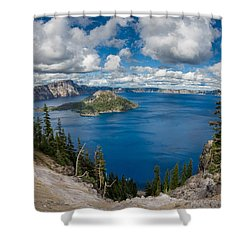 Afternoon At Discovery Point Shower Curtain