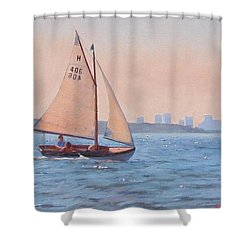 Afternoon Delight Shower Curtain by Dianne Panarelli Miller