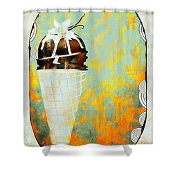Afternoon Delight  Shower Curtain by Liane Wright