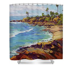Afternoon Glow 2 /laguna Beach Shower Curtain