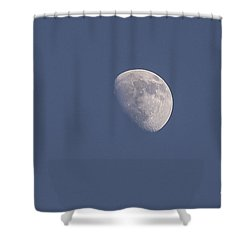 Afternoon Half Moon Shower Curtain by Angela A Stanton