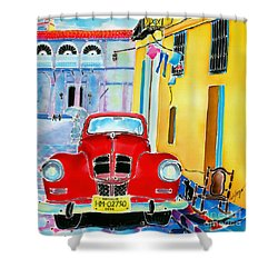 Afternoon In Havana Shower Curtain