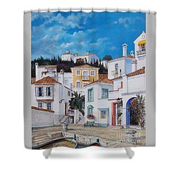 Afternoon Light In Montenegro Shower Curtain