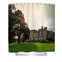 Afternoon Sun Over Markree Castle Shower Curtain