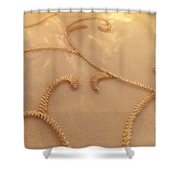 Shower Curtain featuring the photograph Afternoon Tea by John Glass