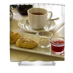 Afternoon Tea Shower Curtain by Louise Heusinkveld