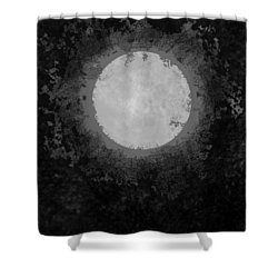 Shower Curtain featuring the drawing Afterward by Carol Jacobs