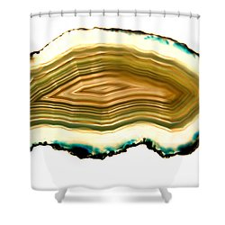 Agate 1 Shower Curtain