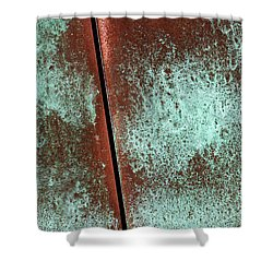 Shower Curtain featuring the photograph Aged by Heidi Smith