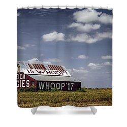 Aggie Barn Shower Curtain