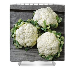 Agriculture - Fresh Heads Shower Curtain by Ed Young