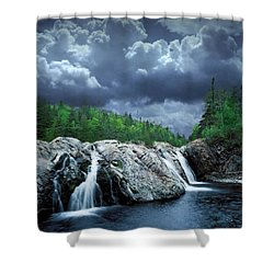 Aguasabon River Mouth Shower Curtain