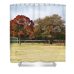 Aiken Shower Curtain by Andrea Anderegg