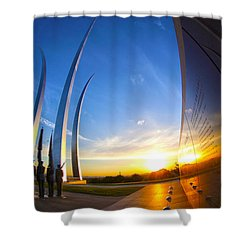 Aim High Shower Curtain