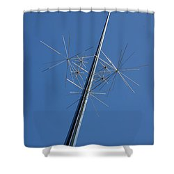 Air And Space Museum Art Spire Shower Curtain
