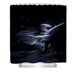Air Elemental 1 Shower Curtain