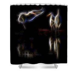 Air Elementals 1 Shower Curtain