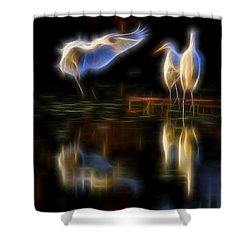 Air Elementals 2 Shower Curtain