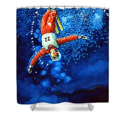 Air Force Shower Curtain by Hanne Lore Koehler
