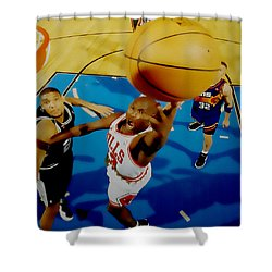 Air Jordan Easy Two Shower Curtain