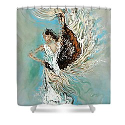 Air Shower Curtain by Karina Llergo