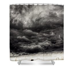 Airplane Shower Curtain by Bob Orsillo