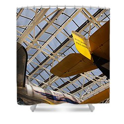 Airplane Rudders Shower Curtain