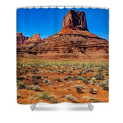 Airport Tower II Shower Curtain by Chad Dutson