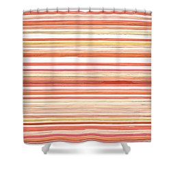 Airy Mood Shower Curtain by Lourry Legarde