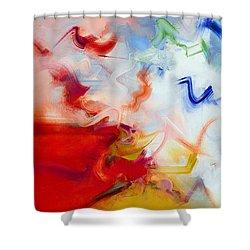 Aitherios II Shower Curtain