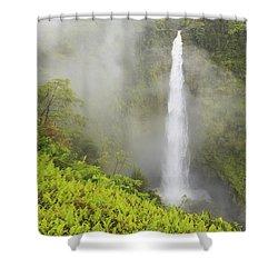 Akaka Falls Akaka Falls State Park Shower Curtain by Stuart Westmorland