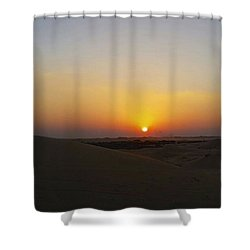 Al Ain Desert 15 Shower Curtain