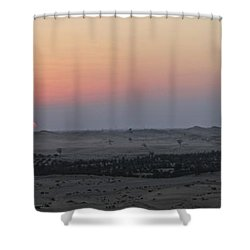 Al Ain Desert 7 Shower Curtain