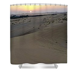 Al Ain Desert 8 Shower Curtain