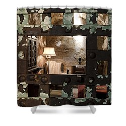 Al Capone Cell Shower Curtain