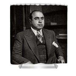 Al Capone - Scarface Shower Curtain