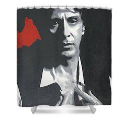 Al Pacino 2013 Shower Curtain by Luis Ludzska