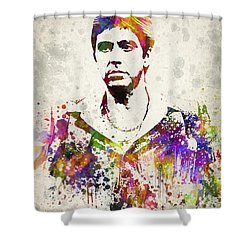 Al Pacino Shower Curtain by Aged Pixel
