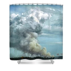Alabama Fire Shower Curtain