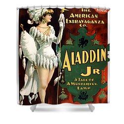 Aladdin Jr Amazon Shower Curtain by Terry Reynoldson