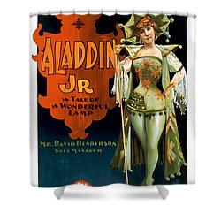 Aladdin Jr Jestor Shower Curtain by Terry Reynoldson