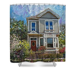 Alameda 1892 Queen Anne Shower Curtain
