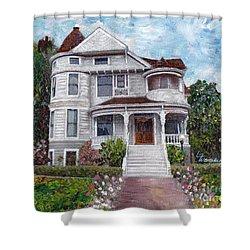 Alameda 1897 - Queen Anne Shower Curtain
