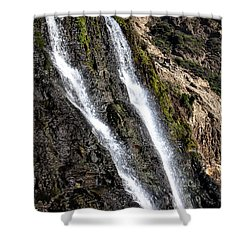 Alamere Falls Two Shower Curtain by Garry Gay