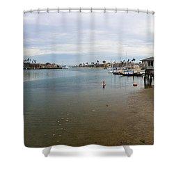 Alamitos Bay Shower Curtain by Heidi Smith